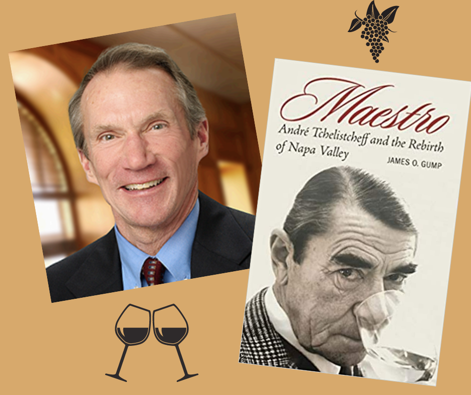 Books on Wine Evening with James O. Gump